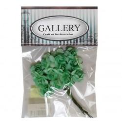 Хартиени обемни цветя резида