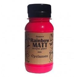 Àêðèëíà áîÿ Quasart Rainbow matt 60ml 12.035 Öèêëàìåíî