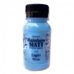 Àêðèëíà áîÿ Quasart Rainbow matt 60ml 12.114 Ñâåòëî ñèíüî