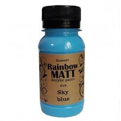 Àêðèëíà áîÿ Quasart Rainbow matt 60ml 12.016 Íåáåñíî ñèíüî