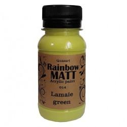 Àêðèëíà áîÿ Quasart Rainbow matt 60ml 12.014 Ëèìîíåíî çåëåíî