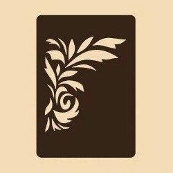 Шаблон за декорация - Флорален мотив 5, Craftabilia