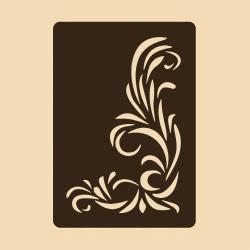 Шаблон за декорация - Флорален мотив 4, Craftabilia