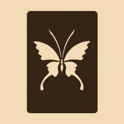 Шаблон за декорация - Пеперуда 2, Craftabilia