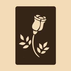Шаблон за декорация - Роза 2, Craftabilia