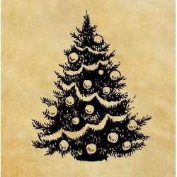 Печат Коледна елха