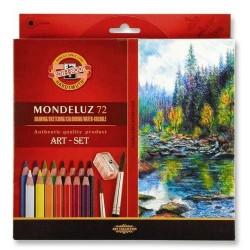 Акварелни моливи Mondeluz 72 +