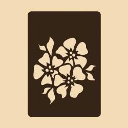 Шаблон за декорация - Иглики, Craftabilia