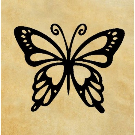 Скрапбукинг печат Пеперуда