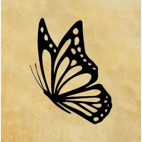 Скрапбукинг печат - Пеперуда