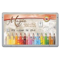 Магически цветни моливи Triocolor 23+ цвята