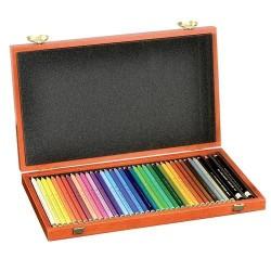Цветни моливи Polycolor 36 цвята - кутия.