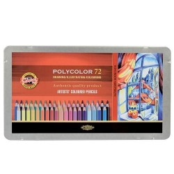 Цветни моливи Polycolor 72 цвята
