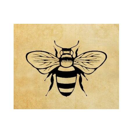 Скрапбукинг печат Пчела