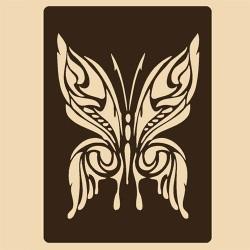 Шаблон за декорация - Пеперуда, Craftabilia
