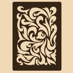Шаблон за декорация - Флорална композиция, Craftabilia