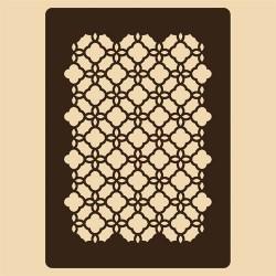 Шаблон за декорация - Източномароканска решетка, Craftabilia