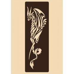 Шаблон за декорация - Дракон, Craftabilia