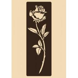 Шаблон за декорация - Прекрасна роза, Craftabilia