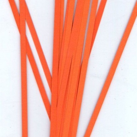 Квилинг ленти 4мм - цвят оранжево-червено R04