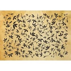 Фонов печат флорални мотиви