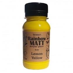 Àêðèëíà áîÿ Quasart Rainbow matt 60ml 12.015 Èíòåíçèâíî Ëèìîíåíî æúëòî